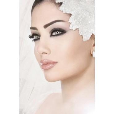 Braut make-Up & Probe